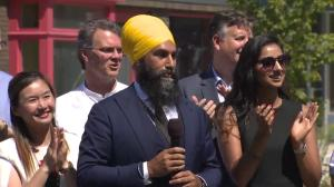 What is Jagmeet Singh's path to victory in Burnaby South riding?